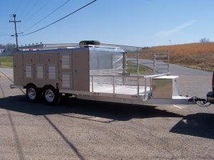 10-Hole 4 Closet Front ATV Trailer