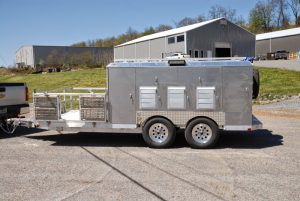 6-Hole Trailer With 4 Closets ATV