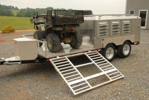 6-Hole Trailer With ATV