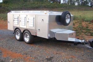 6-Hole Tandem Axle Trailer With 4 Closets